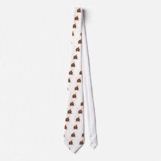 Confetti-Party Sasquatch Bedruckte Krawatte