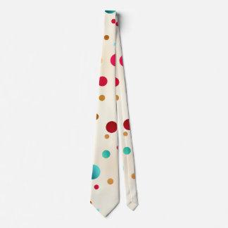 Confetti-Schein-Polka-Punkt-Muster-Krawatte Krawatte