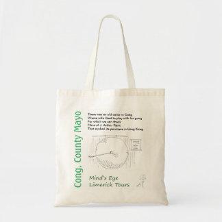 Cong Klingel-Tasche von den limerick-Ausflügen des Budget Stoffbeutel