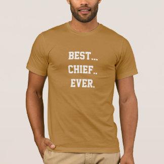 Connaissez le meilleur chef de marine jamais ? t-shirt