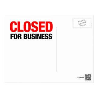 Connecticut schloss für Geschäft! Postkarte