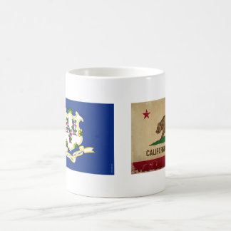 Connecticut-Staat Flag.png Kaffeetasse
