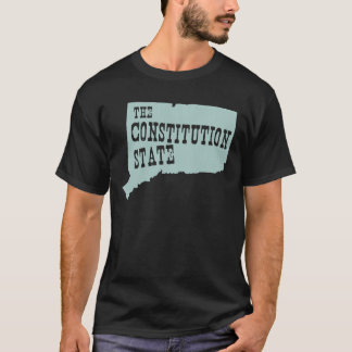 Connecticut-Staats-Motto-Slogan T-Shirt
