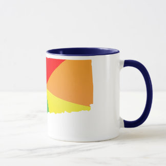 Connecticut-Stolz. winklig Tasse