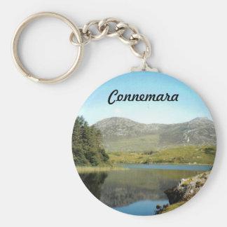 Connemara See auf einem Schlüsselring Schlüsselanhänger