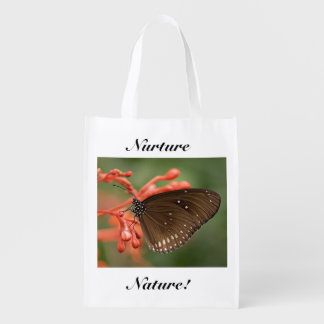 Consolidez le papillon de nature cabas épicerie