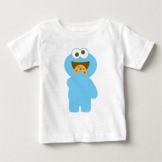 Consommation de monstre de biscuit de bébé t shirts