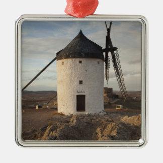 Consuegra, antike La Mancha Windmühlen 7 Silbernes Ornament