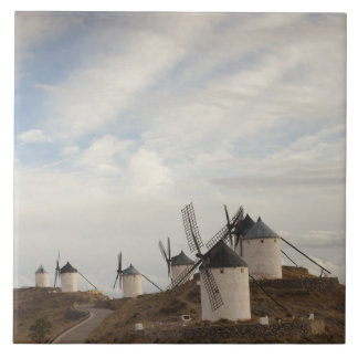 Consuegra, antike La Mancha Windmühlen Fliese
