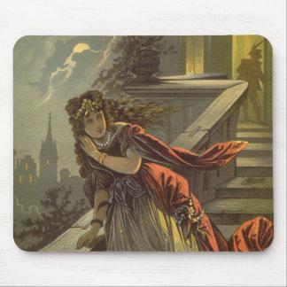 Conte de fées victorien vintage, Cendrillon Tapis De Souris