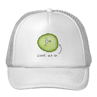 cool comme casquette de concombre