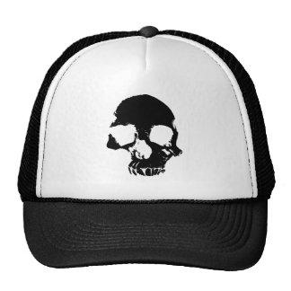 Cool effrayant de crâne gothique casquette