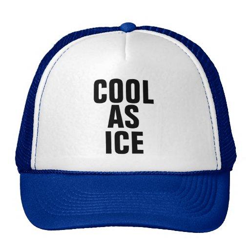 Cool en tant que chapeau de camionneur de glace casquette de camionneur