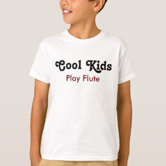 Cool enfants Play Flute T-shirt