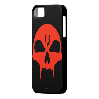 Cool red vampire skull graphic design fone case iPhone 5 schutzhüllen