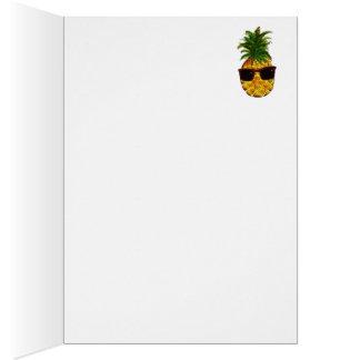 Coole Ananas Grußkarte