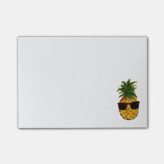 Coole Ananas Post-it Klebezettel
