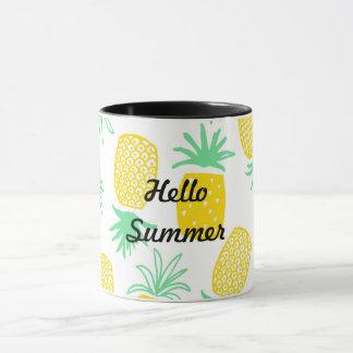 Coole Ananas-Tasse Tasse