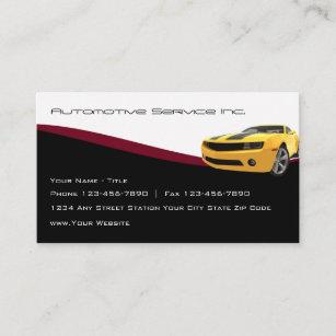 Coole Automobil-Service-Geschäfts-Karten Visitenkarte