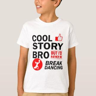Coole Breakdanceentwürfe T-Shirt
