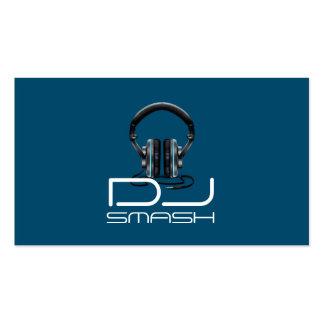 Coole DJ-Musik-Geschäfts-Karte Visitenkarten