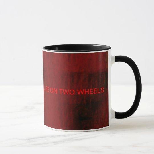 coole Fahrradkunst Tasse