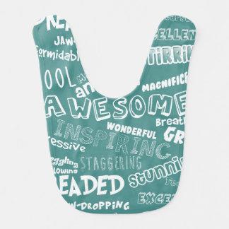 Coole fantastische Wörter Lätzchen