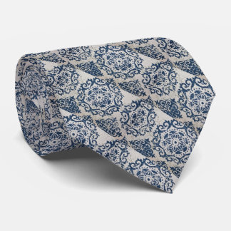 Coole grafische Batik-Kreis-Kunst Bedruckte Krawatten