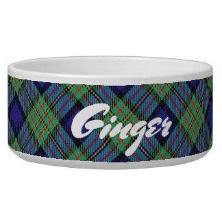 Coole Haustier-schottischer Clan MacLaren Tartan Napf