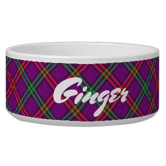 Coole Haustier-schottischer Clan-MontgomeryTartan Napf