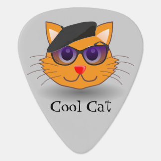 Coole Katzen-Sonnenbrille-optionale Plektron