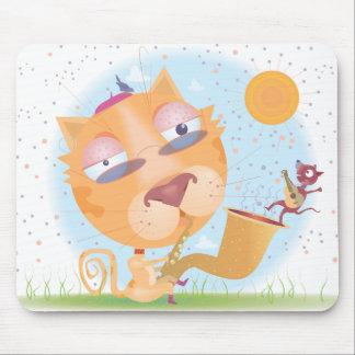 Coole KittyMausunterlage Mauspad