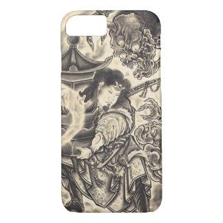 Coole klassische Vintage japanische iPhone 8/7 Hülle