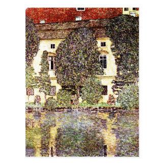 Coole Landschaft - Gustav Klimt Postkarte