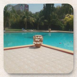Coole Liebe der Sommerzeit-Pool-Seite I meine Getränkeuntersetzer