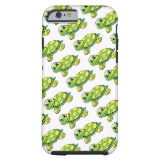Coole niedliche Schildkröte Tough iPhone 6 Hülle