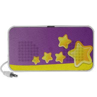 Coole niedliche Stern-Lautsprecher Mobile Lautsprecher