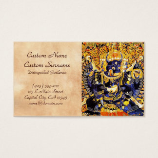 Coole orientalische tangka Yamantaka Visitenkarten