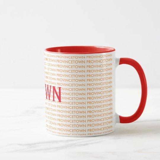 Coole Provincetown Kaffee-Tasse Tasse