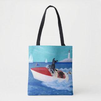 Coole Sommer Labradors Malerei-Tasche Tasche