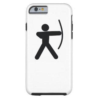 Coole Sportikone des BOGENSCHIESSENS | Tough iPhone 6 Hülle