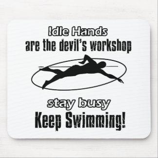 Coole Swimentwürfe Mousepads