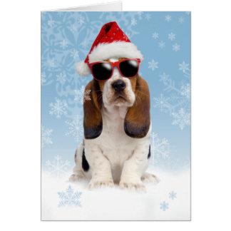Coole Weihnachten-Weihnachtskarte Karte
