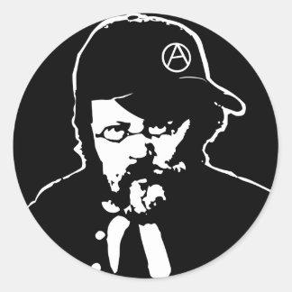 Cooler Anarcho Proudhon Aufkleber