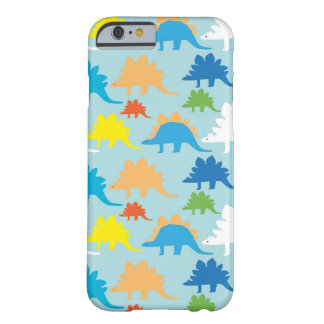 Cooler Dinosaurier iPhone 6 Fall hellblau Barely There iPhone 6 Hülle