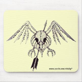 Cooler Entwurf mousepad grafische Kunst des Vogels