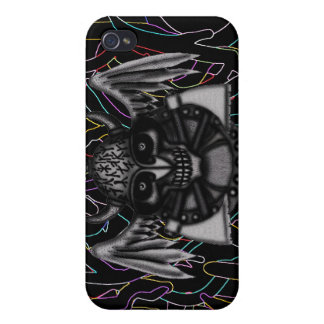 Cooler Fallentwurf iphone grafische Kunst Wikinger iPhone 4 Etui