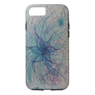 Cooler FarbBlumen-Telefon-Kasten iPhone 8/7 Hülle
