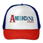 Cooler Fernlastfahrer-Americanahut Retrokultcap