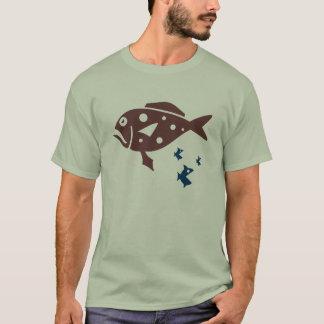 Cooler Fisch-T - Shirt